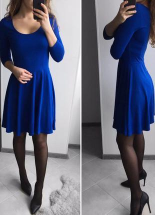 Безумно красиво платья  цвета индиго