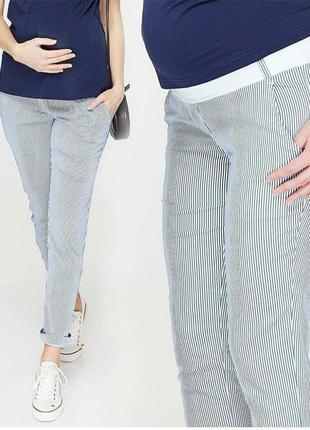 Брюки летние штаны для беременных, брюки для вагітних
