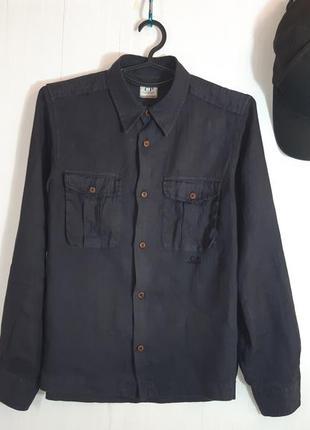 Cp company рубашка льняная
