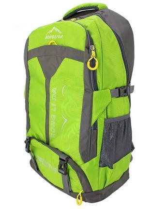 Яркий рюкзак походный, туристический ronglida, текстиль, 50 л