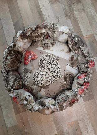Лежак, корзина для животных  спальное место 60 см