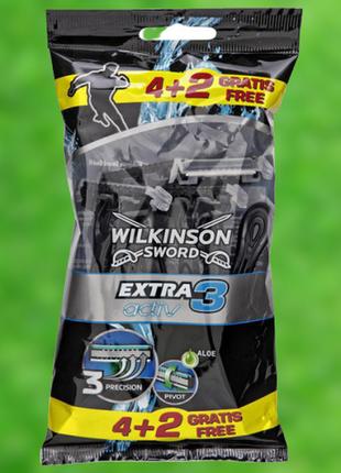 Wilkinson extra 3 active einwegrasierer - одноразовые мужские станки