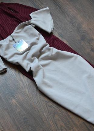 Шикарное новое плать missguided,размер 12
