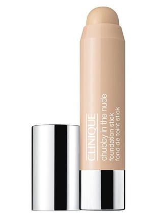 Clinique chubby in the nude foundation stick тональный стик