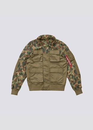 Ветровка с капюшоном compound flight jacket
