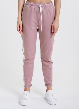 Женские спортивные штаны из трикотажа