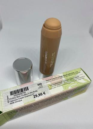 Clinique chubby in the nude foundation stick тональный стик 07