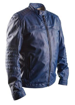 Мужская кожаная куртка strellson