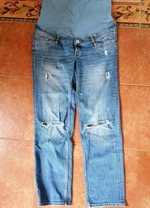 Летние джинсы для беременных р. м