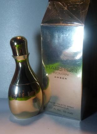 Halston woman amber 5 мл пробник