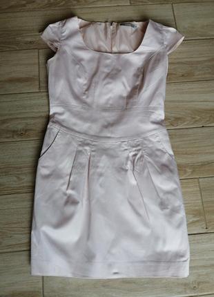 Красивое нежно-розовое платье