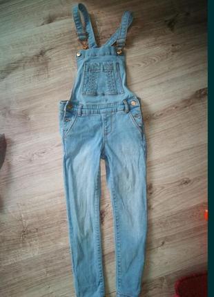Комбинезон джинсовый  джинсы