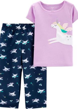 Пижама carter's пегас единорог 4