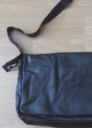 Мужская кожаная сумка lakeland.