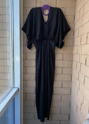 Брючный комбинезон с рукавами-кимоно asos