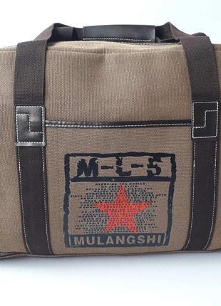 Вместительная дорожная сумка, мужская сумка ml-5