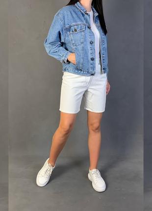 Куртка джинсовая объёмная джинсовка винтаж xforu.
