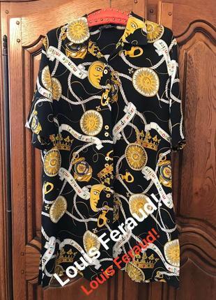 Удлинённая рубашка,туника,платье  louis feraud