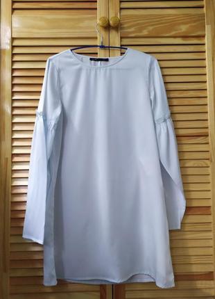 Платье нежно-голубое 🍀