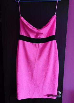 Платье клубное, коктельное, с открытыми плечами и спиной