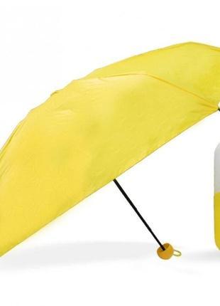 Мини-зонт в капсуле capsule umbrella mini yellow