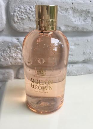 Molton brown jasmine and sun rose гель для душа 300 мл