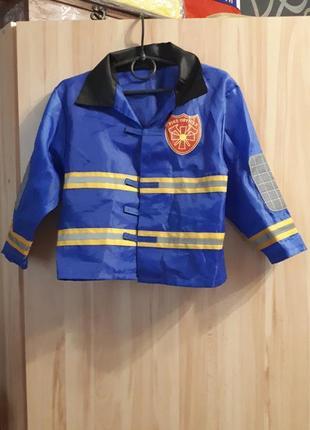 Карнавальный костюм пожарника