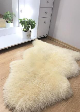 Шкурка из натуральной овчины, высоковорсный ковёр