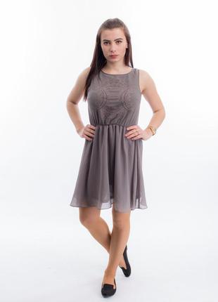 Шифоное платье h&m