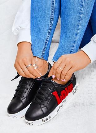 Модные черные кеды!!!