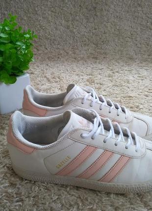 Кроссовки adidas gazelle белые оригинал
