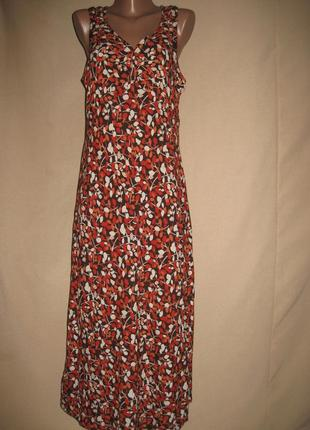 Вискозное платье bhs р-р14