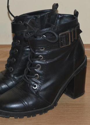 Ботинки (сапоги, сапожки) bershka