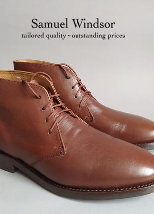 Ботинки чукка samuel windsor англия