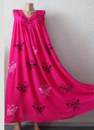 Красивое платье сарафан энни роз., универсальный большой размер!