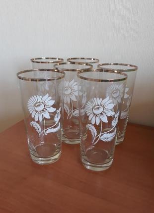 Набор стаканов, стаканы