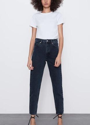 Продам или обменяю на 36 р zara mom jeans джинсы мом момы 38 р. новые