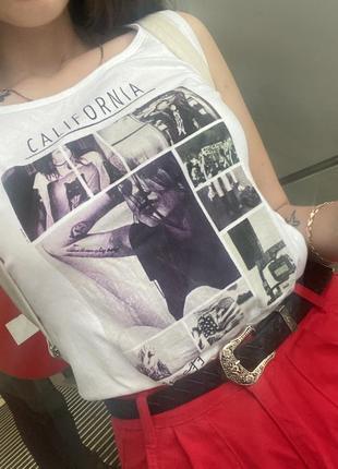 Майка, футболка california