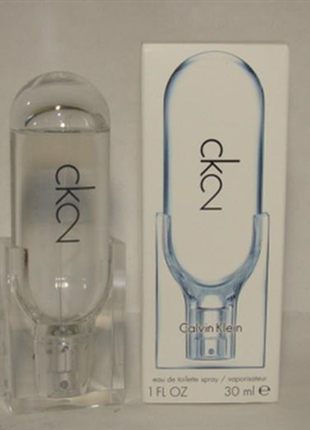 Calvin klein  ck2  туалетная вода унисекс, 50 мл