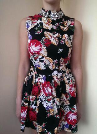 Плаття в квіточки river island