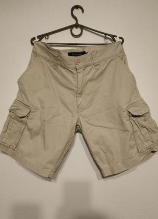 W32 w33 сост нов hc casuals шорты карго мужские с накладными карманами бежевые zxc