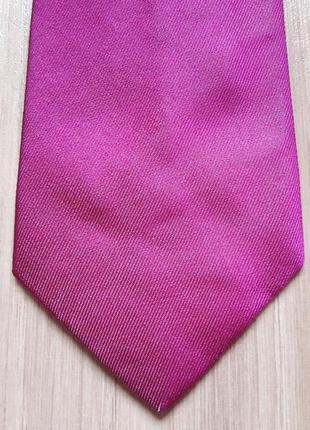 Фирменный галстук (италия), котон/шелк.