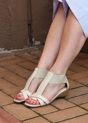 Шикарні шкіряні босоніжки the flexx, італія-оригінал