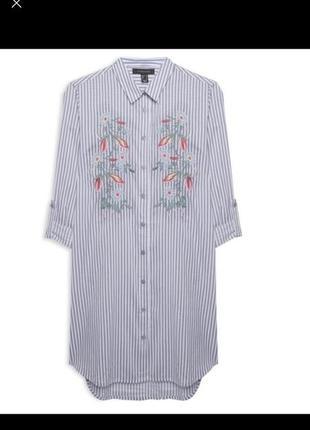 Длинная рубашка туника .