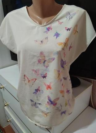Блуза футболка esprit xs - s