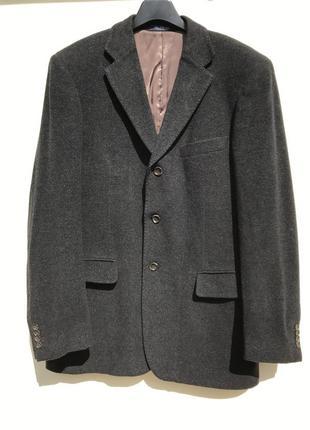 Жакет пиджак шерстяной блейзер мужском