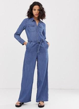 Only эксклюзив модный джинсовый комбинезон с отличным составом ткани летний вариант