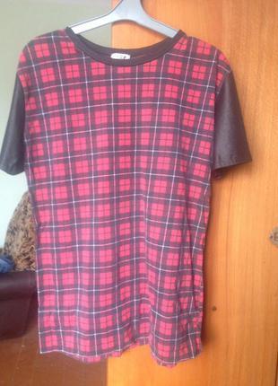 Длиная футболка