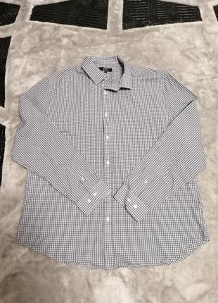 Мужская легкая рубашка george размер xxl/44