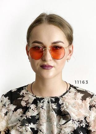 Солнцезащитные очки с красными линзами к.11163